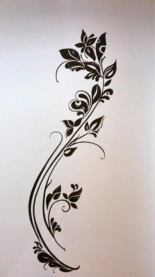 Kvet na stene