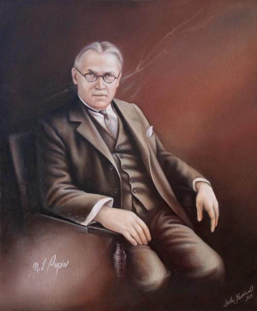 Mihalijho Pupin - portrét